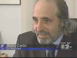 Marc Carlin featured on CBS-TV News