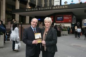 Marc Carlin, The NYC Hypnotist and Sheila Granger, UK hypnotherapist