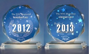 The NYC Hypnotist Best Of Manhattan Award